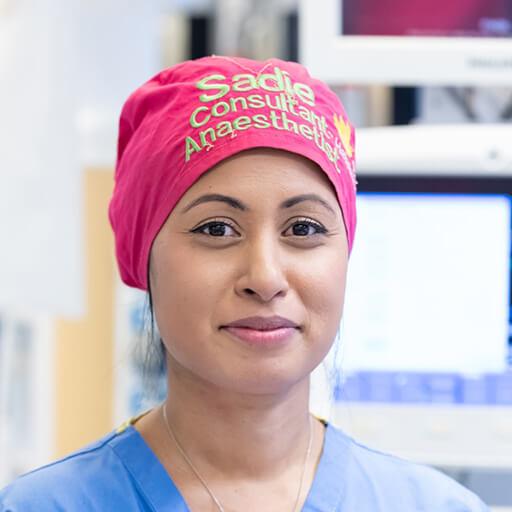 Dr Sadie Syed